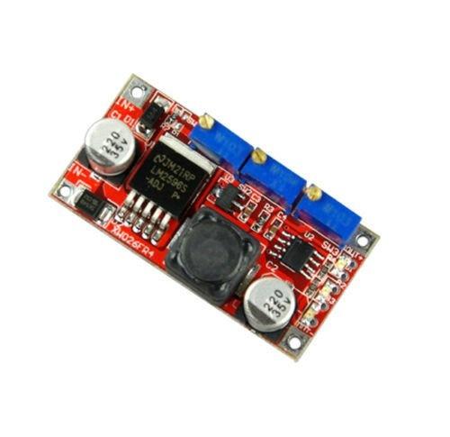 CC-VC step down converter, Stroom en Voltage Begrenzing