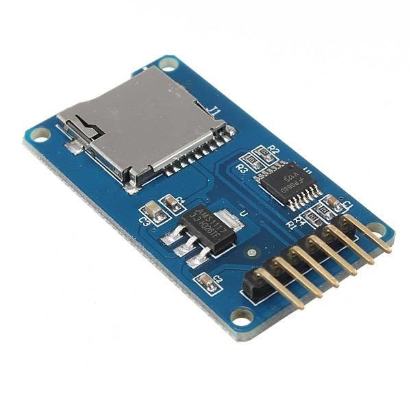 Micro SD, TF SDHC SPI Memory Module