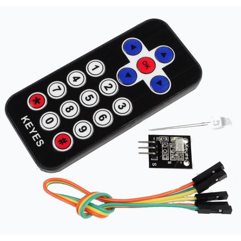Arduino IR Remote Control and IR Receiver