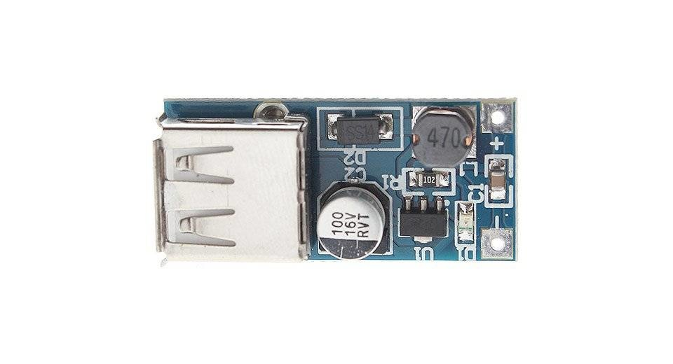 Mini Step Up Inverter 600mA, For Arduino, Phone and Tablet