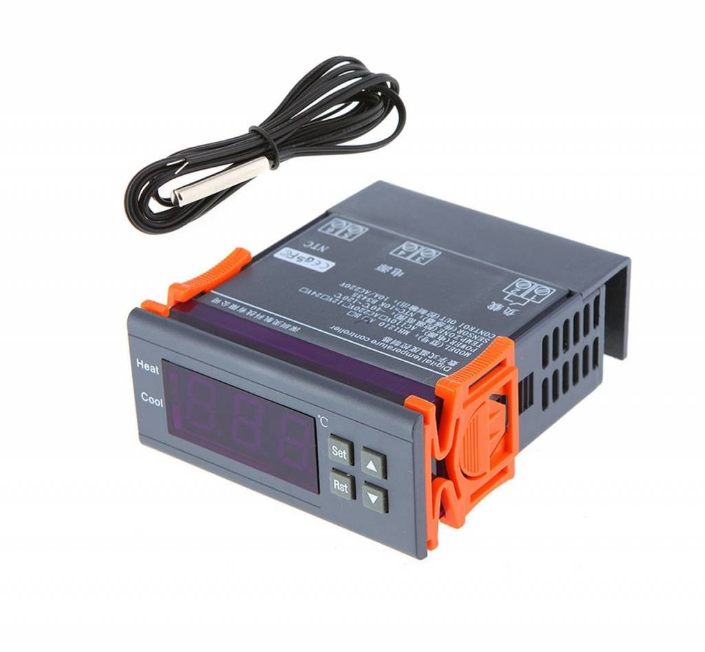 Temperatuur Controller STC-1000, Inclusief Sensor - PCF Electronics