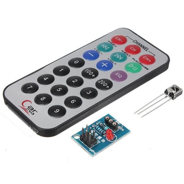 HX1838 NEC Arduino Infrared remote control. Including accessories