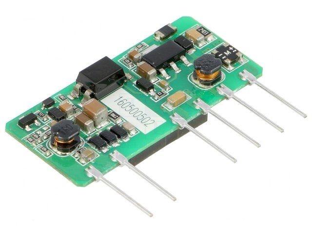 AC / DC Inverter 5 Volt 1 Amp Mini format, AIMTEC AMEOF5-5SJZ