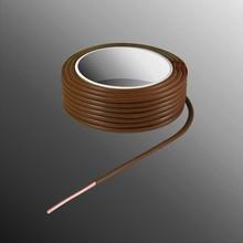 HELUKABEL  Project Draad H05V-U 2,3 x 0,5mm², Massieve Kern, Brand Vertragend - Bruin
