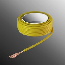 HELUKABEL  Project Wire H05V-K 2.5 x 0.5mm², Fiber Fiber Core, Fire Retardant - Yellow