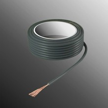 HELUKABEL  Project Wire H05V-K 2.5 x 0.5mm², Fiber Fiber Core, Fire Retardant - Gray