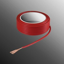 HELUKABEL  Project Wire H05V-K 2.5 x 0.5mm², Fiber Fiber Core, Fire Retardant - Red