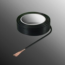 HELUKABEL  Project Wire H05V-K 2.5 x 0.5mm², Multi Fiber Core, Fire Retardant - Black