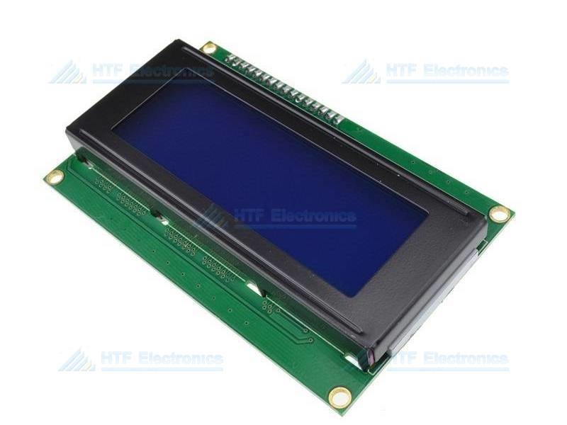 LCD Module Blue White 20 x 4 Characters with I2C Control