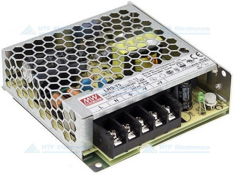 MEAN WELL Modular Switching Power Supply 5V, 70W, 14A