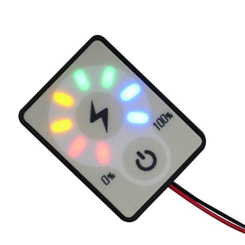 Battery Status Meter 12/24 Volt DC for Lead or Lithium Batteries