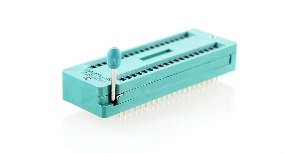 ZIF Socket 40 Pins, Wide