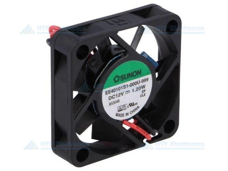 SUNON Borstelloze Ventilator 50x50x10mm 12V DC