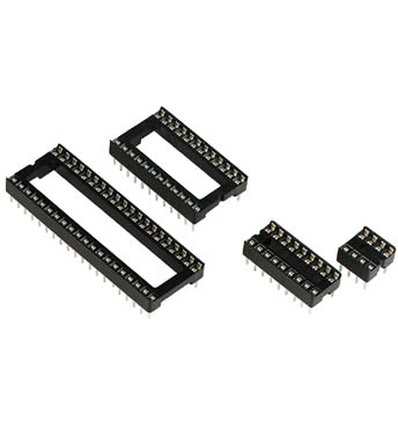 IC voet 8 pins Smal
