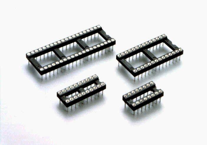 IC socket round 24 pins Narrow