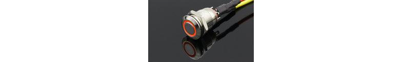 12mm Pressure switch Max 12v