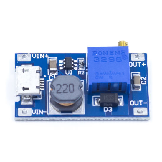 XY-016 Step Up Inverter 2A with Micro USB