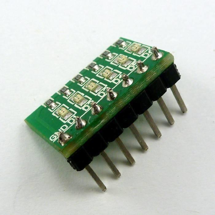 6 bit Groen LED Module