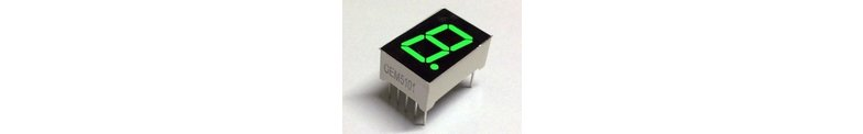 7 Segment Displays 0.56 Inch CA