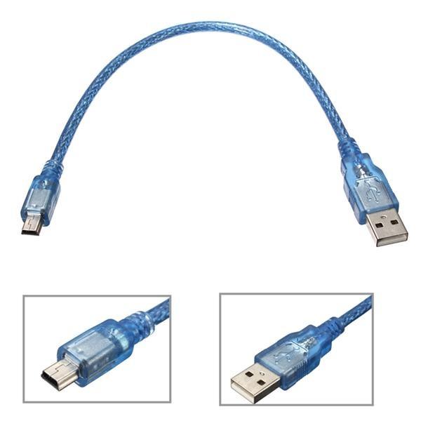 USB Kabel voor arduino Mini USB naar USB 30cm