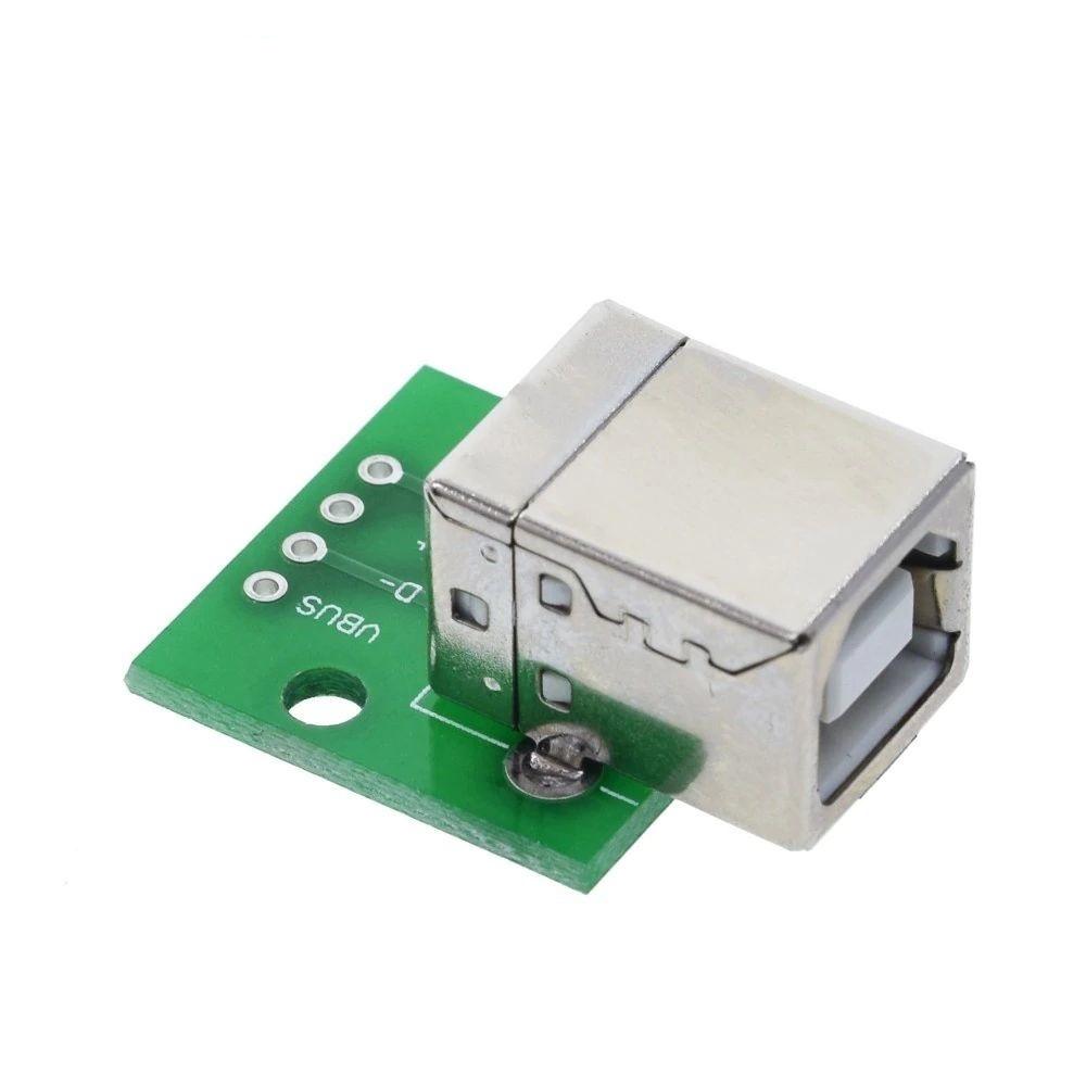 USB B Connector Naar Dip