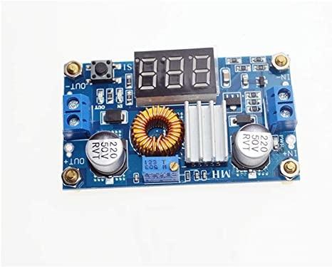 XL4015 DC-DC Converter Adjustable Step-Down Module 4.0-38 V.