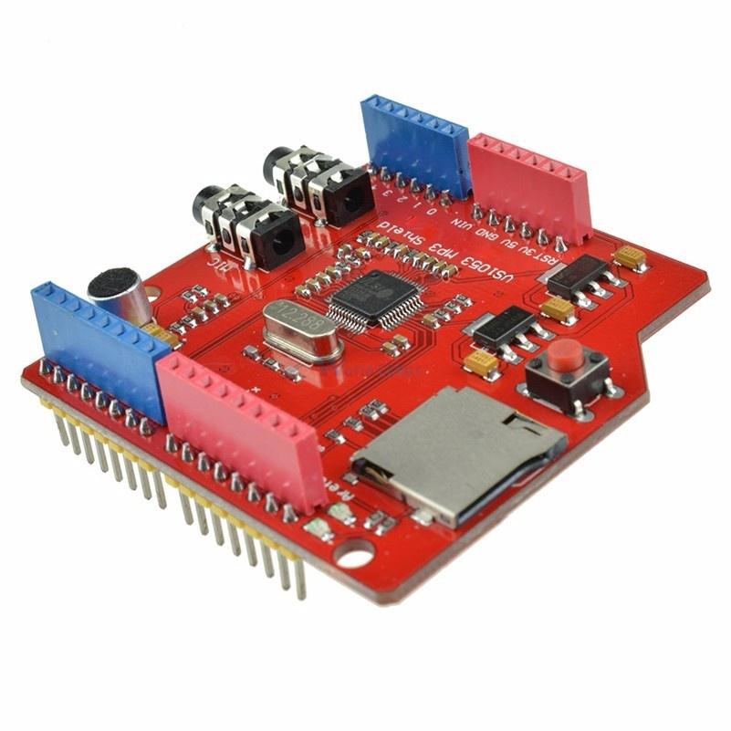 MP3 Player Shield VS1053 voor Arduino