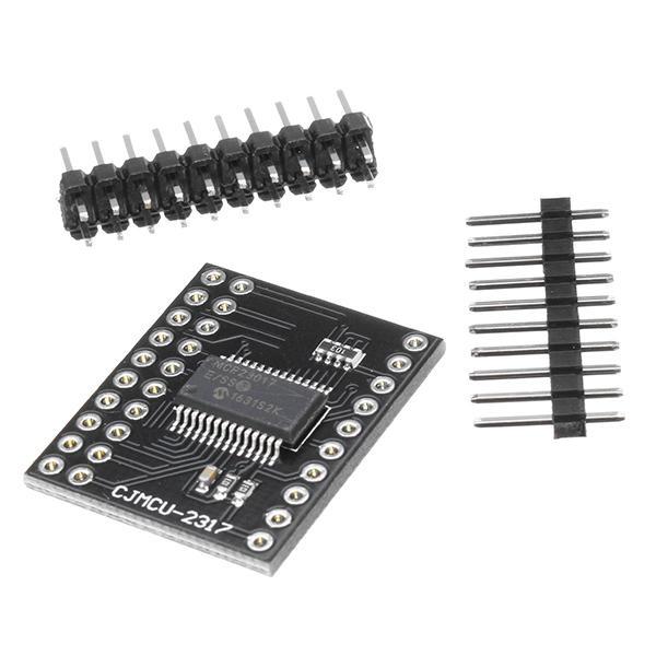 CJMCu-2317 / MCP23017 Serial Interface Module IIC