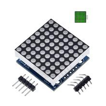 MAX7219 dot matrix module Green