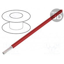 HELUKABEL  Project Wire 26AWG Cu, Tinned Core Red