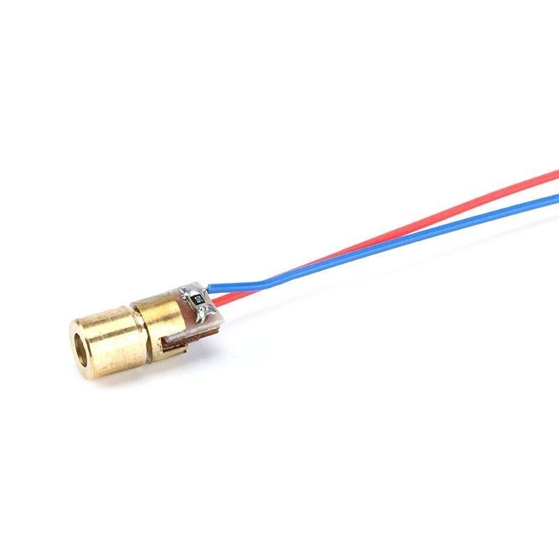 5V 650nm 5mW Laser Red Point
