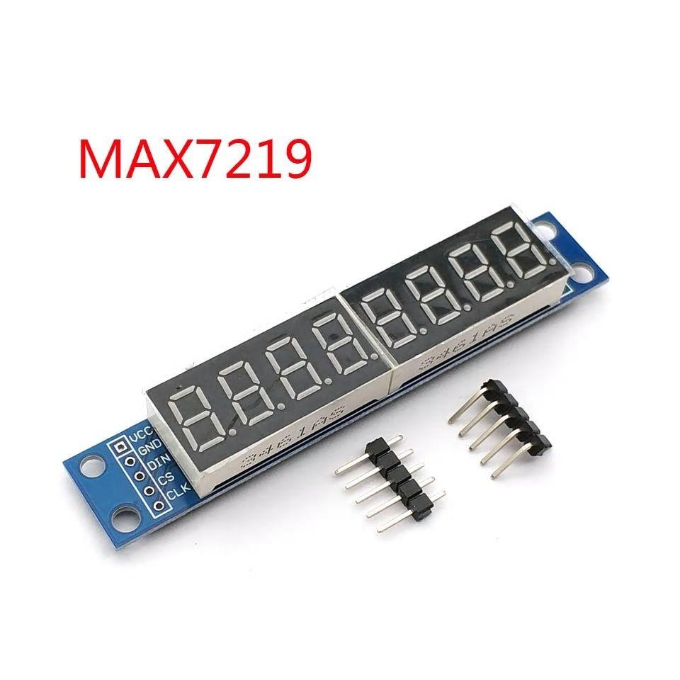 MAX7219 Cijferdisplay 8 x 7 Segmentdisplay