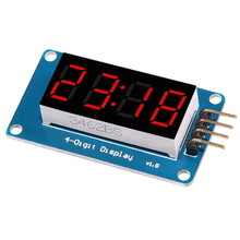 4 Bits TM1637 LED Display Module & Clock
