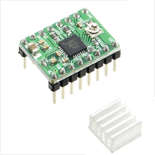 Stepper Motor driver Module A4988 Red - Copy