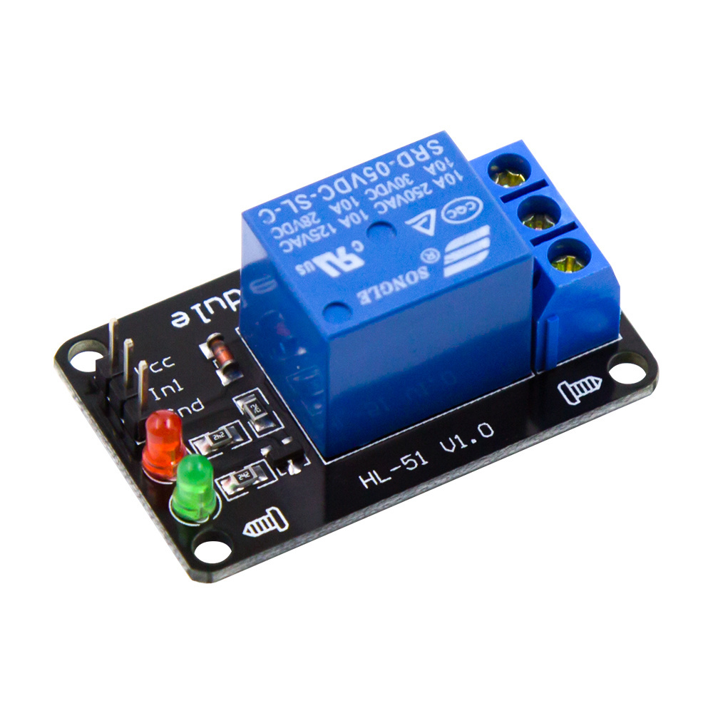 1 Channel Relay Module without light coupling 5V