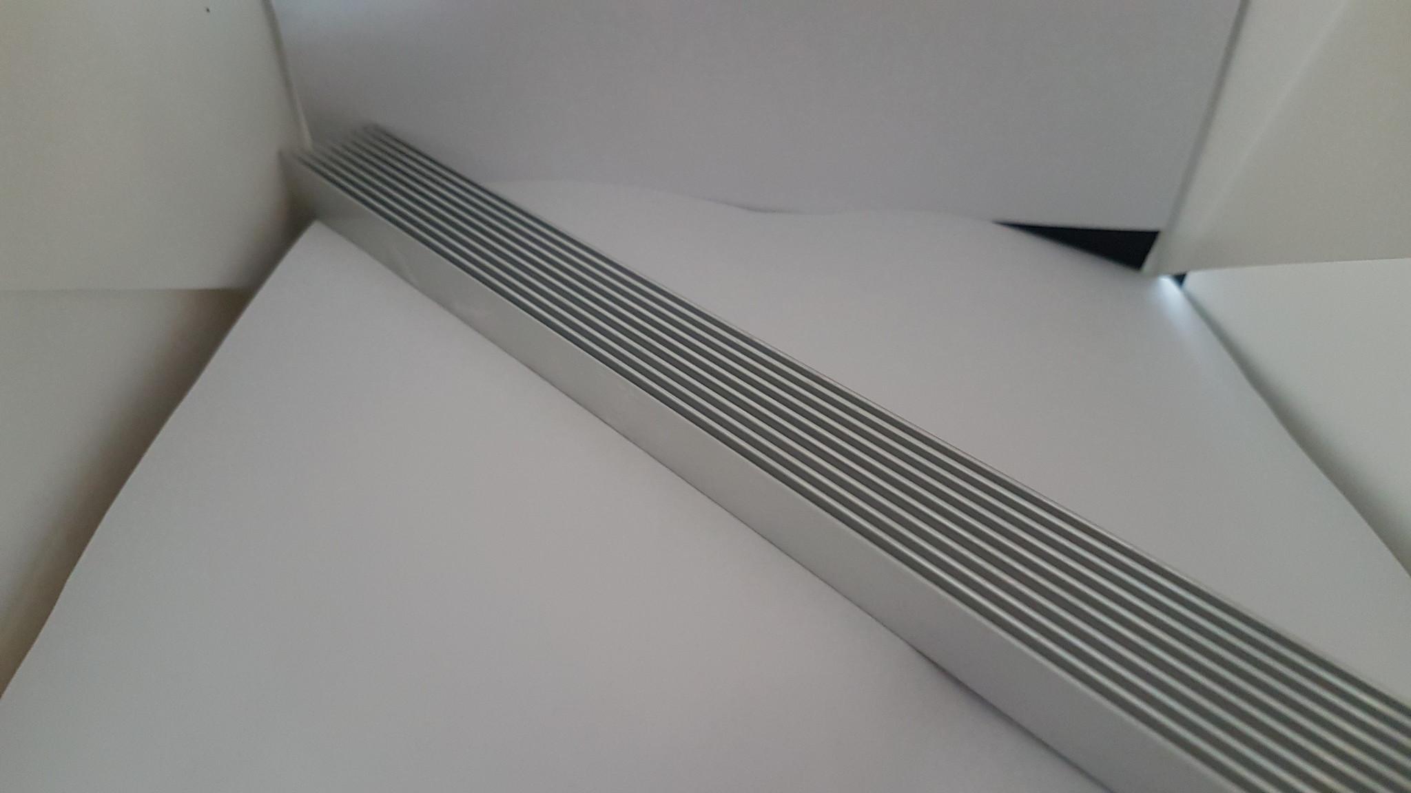 Aluminum heat sink (heatsink) 300 x 25 x 12mm