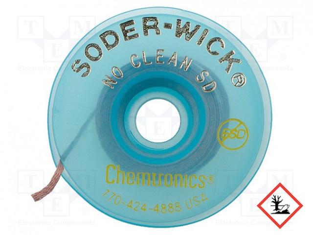 Chemtronics Desoldering Ribbon W: 2.8mm; L: 1.5m