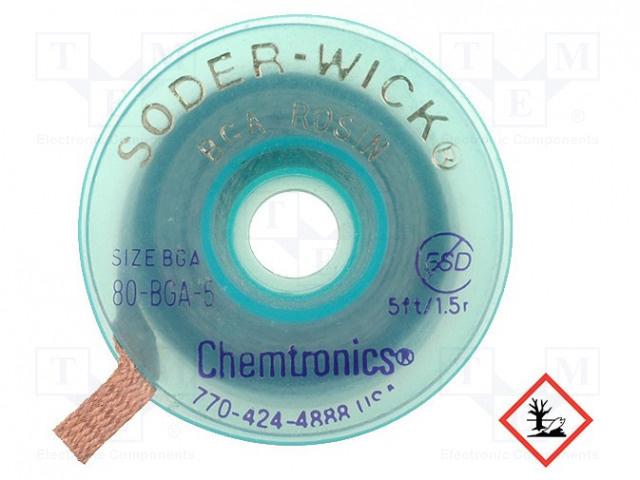 Chemtronics Desoldeerlint W:5,6mm; L:1,5m