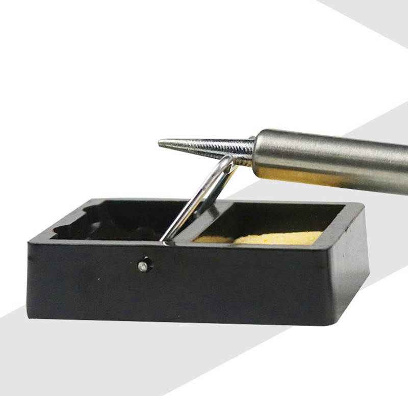 Electric Soldering Iron Stand Holder With Solder Sponge