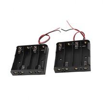 COMF 4 x 1.5V AAA Batterij Houder