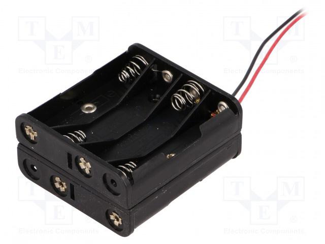 COMF 8 x 1.5V AAA Batterij Houder