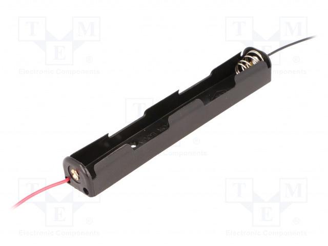 COMF 2 x 1.5V AA Batterij Houder Langwerpig