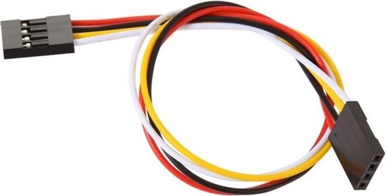 4 Pins Jumper Cable Female / Female 15cm