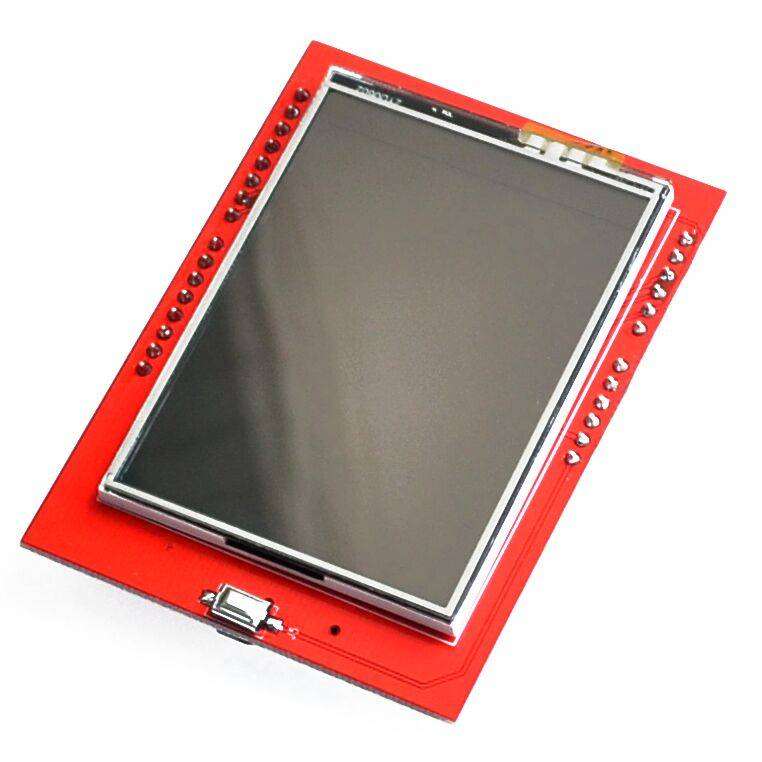 Arduino 2,4 inch TFT screen met SD card slot