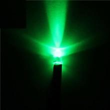 3mm Pre Wired Led Helder Groen  24V