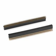 Header Female 2x40 pins 90 degrees