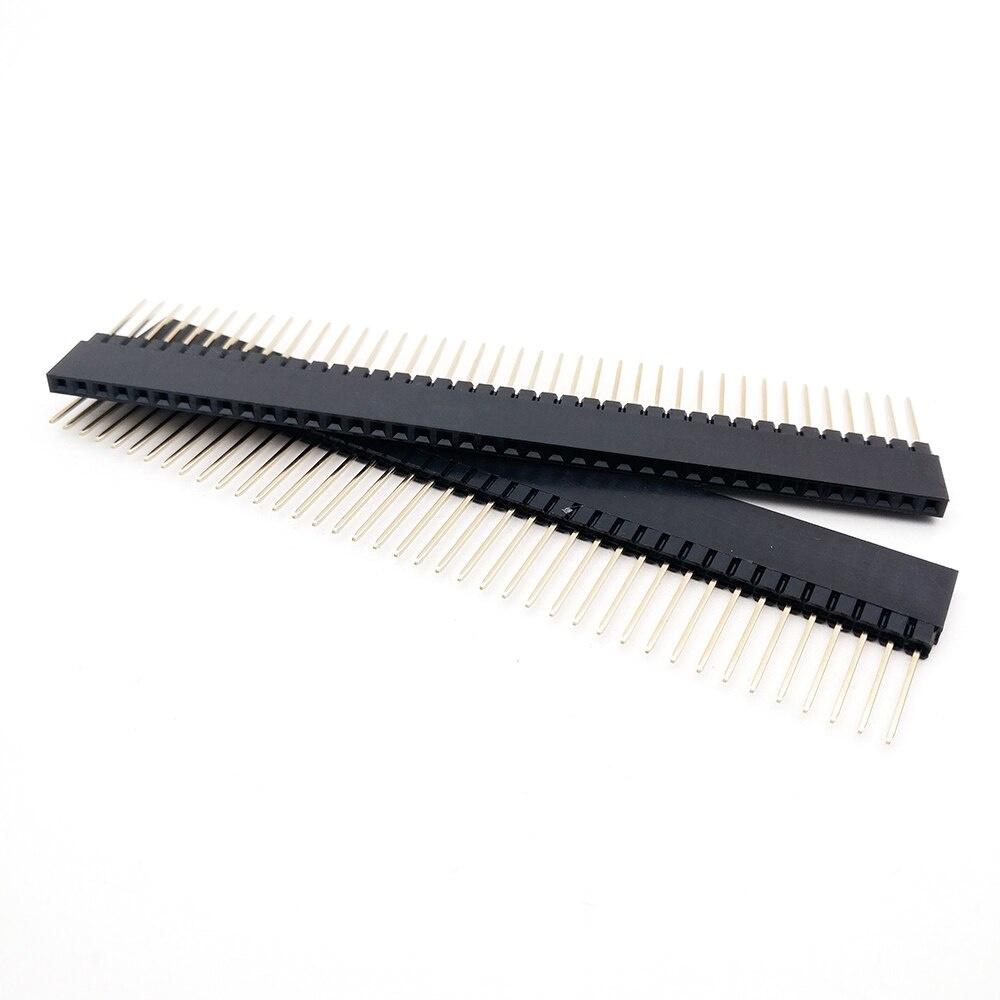 Header Female 1x40 pins Lang