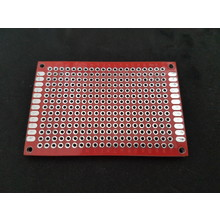PCB Double-sided Red 6x8cm FR4