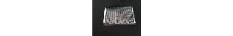 Polyester (epoxy) Experimenteer Printplaten Dubbelzijdig Zwart