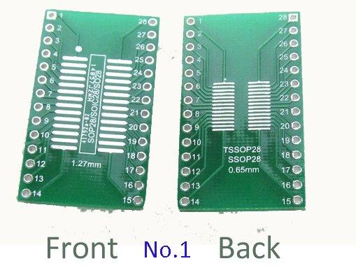 smd to dip adapter SOP28 / SSOP28